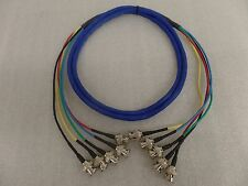 6ft RGBHV 5 BNC Male to 5 BNC Male M/M Custom Made Cables