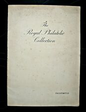 Prospectus-  Royal Philatelic Collection Edited Clarence Winchester. Signed