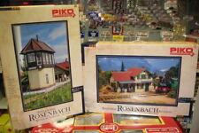 Piko G_ Bahnhof und Stellwerk Rosenbach _ 62040 / 62041