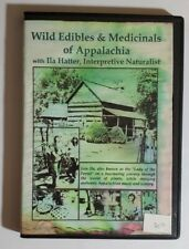 Rare HTF  Wild Edibles & Medicinals of t Appalachia Ila Hatter DVD