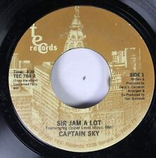 Soul 45 Captain Sky - Sir Jam A Lot / Elementry School Of Funk On Tec Records