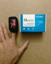 ChoiceMMed Pulse Oximeter Fingertip Black MD300C1 Protective Case NEW IN BOX