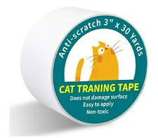 New listing Anti CatScratchTape, 3 inches x 30 Yards Cat Training Tape, 100% Transparent