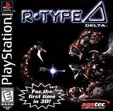 R-Type Delta (Sony PlayStation 1, 1999) - Japanese Version
