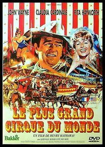 Dvd : Le plus grand cirque du monde (John Wayne)