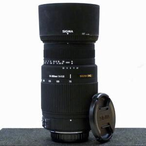 ***SIGMA DG 70-300mm F/4-5.6 OS TELEPHOTO LENS for ALL PENTAX DSLR's***
