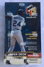 1999 Upper Deck Hologrfx Factory Sealed Baseball Box 36 Pack