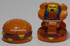 LOOSE McDonald's 1987 Changeables QUARTER POUNDER BURGER Robot TRANSFORMER Toy
