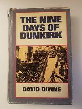 *DAVID DIVINE* The Nine Days of Dunkirk - H/B - 1976
