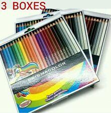 PRISMACOLOR 3 Boxes Total 72 Pieces Colored Pencils Crayons Creyones Pinturas