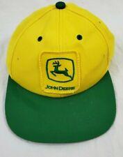 John Deere Baseball Cap Hat Adjustable Yellow/Green