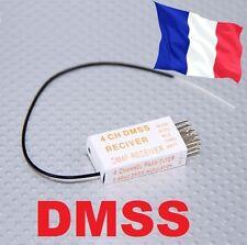 RECEPTEUR REDCON DM4F 2.4GHZ DMSS 4 VOIES modelisme  JR XG6 XG7 XG8 XG11