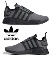 Adidas Originals NMD_R1 Men's Sneakers Casual Shoes Running Grey Black