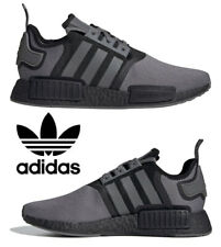 Adidas Originals NMD_R1 Men's Sneakers Casual Shoes Running Gray Black