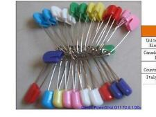2000 pcs Colors Safety Locking Baby Cloth Nappy Diaper Craft Pins