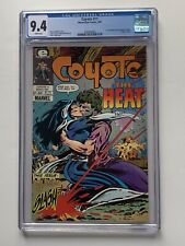 Coyote 11 Cgc 9.4 With White Pages! New Case! 1st Todd McFarlane Published Work!