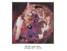 Poster Klimt La Vergine Carta Fotografica 70x70cm Stampa Arte di Qualità G005