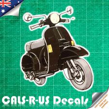 Classic Scooter Motorcycle Motorbike Bike Luggage Sticker Skateboard Car Laptop