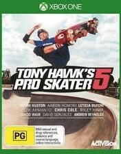 Tony Hawks Pro Skater 5 XBox One Games New Sealed PAL