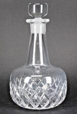 ORREFORS CUT GLASS CRYSTAL LIQUOR WINE DECANTER