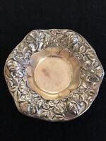 Gorham repousse Art Nouveau Sterling Silver Bowl