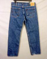 euc Levis 505 men's Regular Fit Denim Jeans Medium/Dark Wash sz 38 X 32