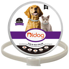 Dogs Flea and Tick Collar Small Medium Anti-mosquito 8 Months Protection