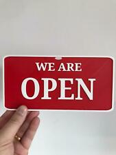 Personalised Sign Plaque, Great away to advertise your business, open now & More