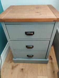 Next Shoreditch Bedside Table - Grey
