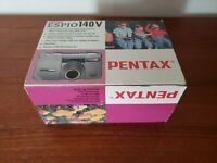 Pentax ESPIO 140V 35mm Point & Shoot Film Camera - JAPAN - NEW - NOT USED