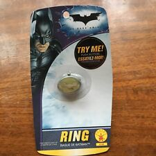 DC Batman Light up Ring New AS IS MOC