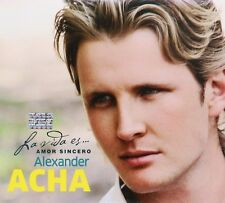 Alexander Acha La Vida es amor sincero CD Caja de carton New Nuevo Sealed