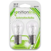 2 x 317 6V 21W Classic Car Motorbike Scooter Stop Tail Indicator Bulbs BA15S