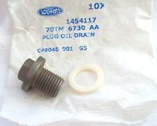 NEW ORIGINAL FORD CORTINA 1.6-2.0 OHC-1970-1983-2.3V6-77-83  SUMP PLUG + WASHER