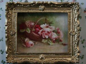 1:12 Maßstab Gerahmt Bild Druck Von Ein Viktorianisch Familie Tumdee Puppenhaus