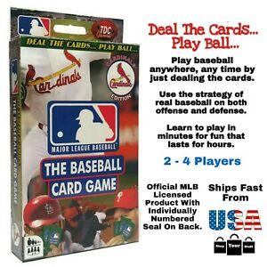 MLB St. Louis Cardinals TDC Games, The Baseball Game 56-Card Deck Busch Stadium