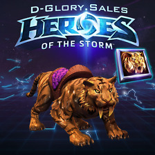 Golden Tiger Mount - Heroes of the Storm (Region FREE)