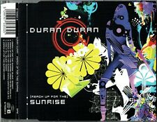 "DURAN DURAN - 5"" CD - (Reach Up For The) Sunrise + Mixes  + Video. EPIC"