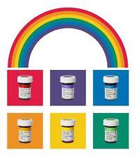 WILTON Icing color gelfarben alimentare colore 6 x 28g nel set regenbogenmix