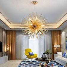 "Modern 22"" Sputnik Chandelier Light Fixture 12 LED Ceiling Light Pendant Lamp"