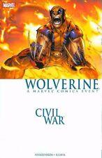 Wolverine: Civil War by Guggenheim & Ramos 1st Print 2007 Tpb Marvel Oop