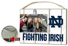 Notre Dame Fighting Irish Clip It Weathered Logo Photo Frame [NEW] NCAA Picture