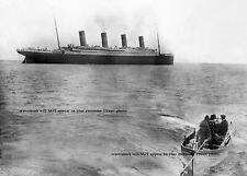 Amazing Last Titanic Photo Afloat April 11 1912 Departing Queenstown Ireland