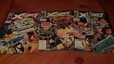 X-FORCE LOT OF 3 COMICS VF FEATURING WAR- MACHINE!