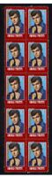 CONWAY TWITTY, COUNTRY STAR STRIP OF 10 MINT VIGNETTE STAMPS 4