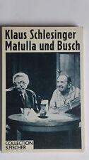 T148-Klaus Schlesinger-matulla e Busch - 1984