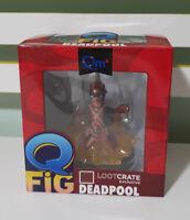 Marvel Deadpool LootCrate Exclusive Q Fig Figure Quantum Mechanix 2015