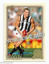2012 Eternity Nathan BUCKLEY Collingwood Promotional Card