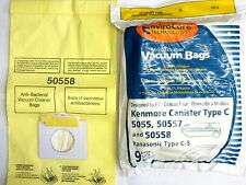 18 Kenmore Vacuum Bags 5055 50557  50558 Panasonic C-5 BRAND NEW SEALED PRODUCT!