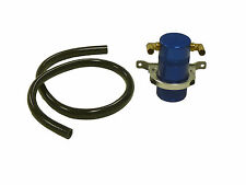 "OBX Air Oil Separator Universal Blue 2.12"" Diameter , 4.0"" Height , 3/8"" Fitting"